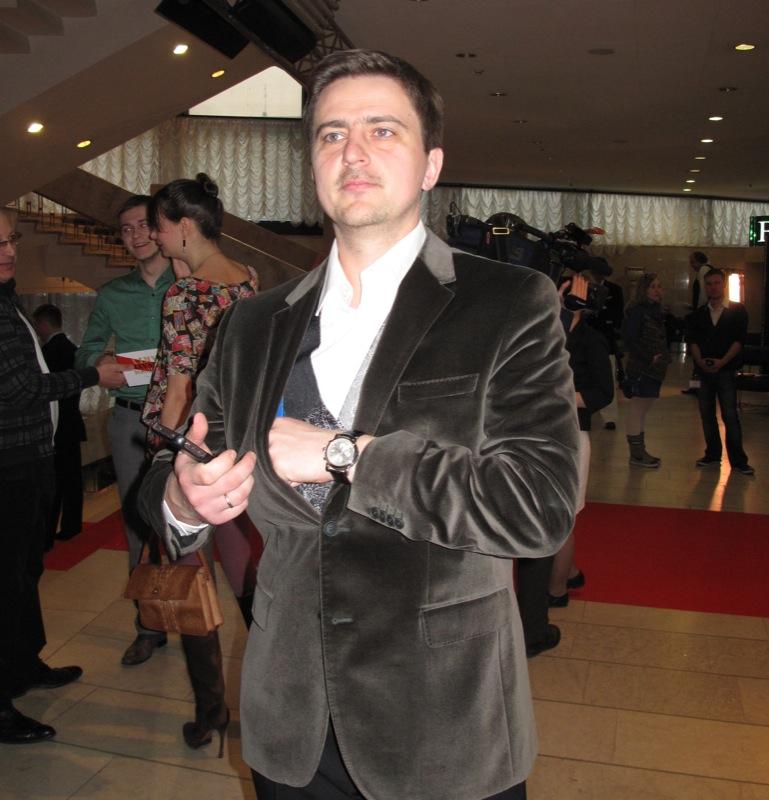 Телеведущий Павел Шилько. Фото: Оксана Позднякова/The Epoch Times Украина