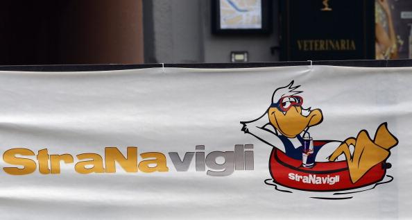 Логотип водного фестивалю Stranavigli в Мілані. Фото: Vittorio Zunino Celotto/Getty Images