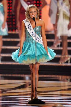 Мисс Нью Мехико Christina Marie Hall в отборочном туре. Фото: Christina Marie Hall