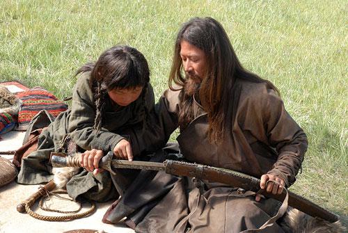 Кадр из фильма 'Монгол'. Фото: Кинокомпания СТВ (ctb.ru)