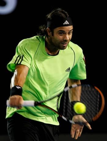 Фернандо Гонсалес (Чилі) (Fernando Gonzalez of Chile) під час Відкритого чемпіонату Австралії з тенісу в Мельбурні. Фото: Quinn Rooney/Getty Images