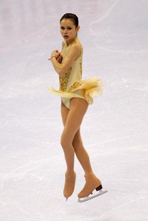 Довільна програма на національному Чемпіонаті США в 2006 р. Фото: Elsa/Getty Images