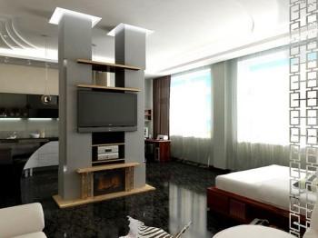 Квартира-студія: богемне житло.Фото:alterego.od.ua