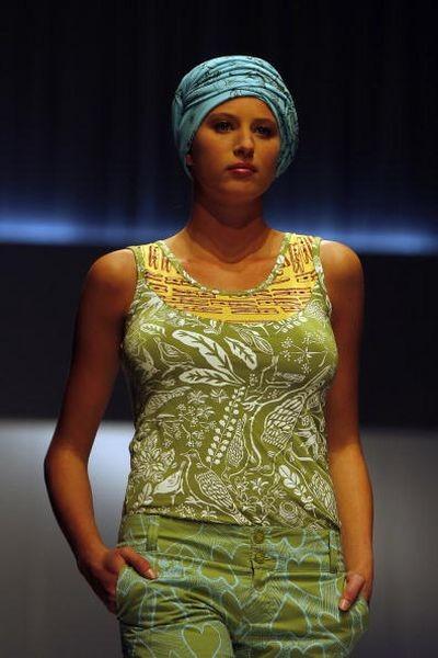 Тиждень моди в Кейптауне. Фото: АFP