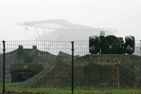 25 червня. Пекін. Недалеко від олімпійського стадіону розташована база протиповітряної оборони. Фото: Getty Images