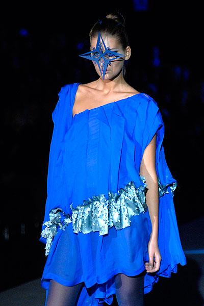 Український тиждень моди / Ukrainian Fashion Week: колекція Олени Даць. Фото: Володимир Бородін / The Epoch Times