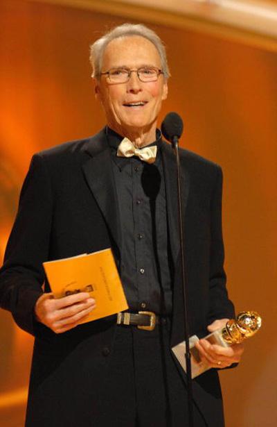 Клінт Іствуд (Clint Eastwood) отримав нагороду в номінації 'Кращий режисер' за фільм 'Листи з Іводзіми' /Letters from Iwo Jima/ (2006) Фото: Bob Long/HFPA via Getty Images