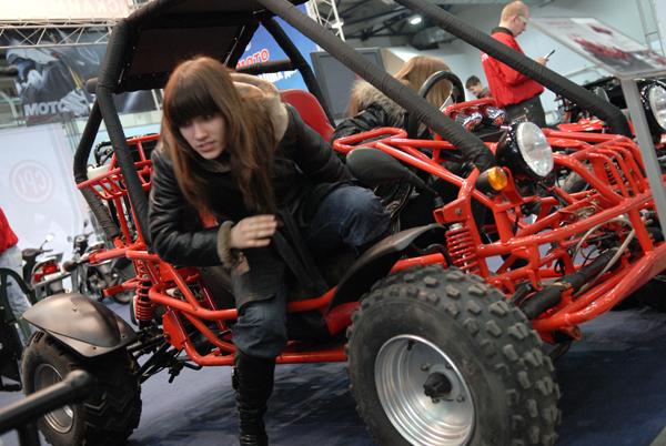 В Киеве открылась пятая международная специализированная выставка «Мотобайк-2009». Фото: Владимир Бородин/The Epoch Time