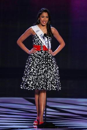 Мисс Джорджия, Amanda Kozak заняла на конкурсе почетное третье место. Фото:Ethan Miller/Getty Images