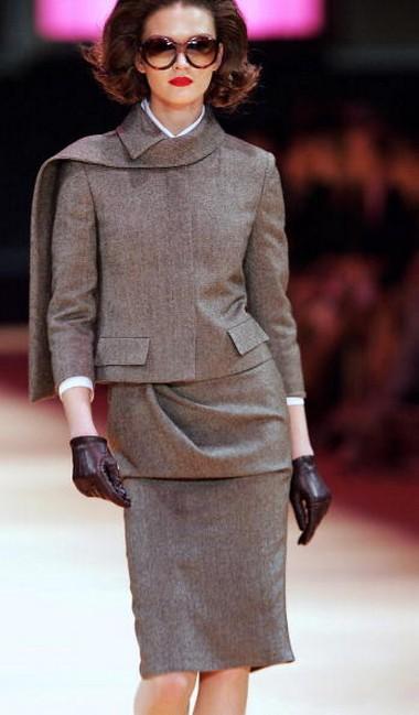 Колекція від британського дизайнера Alexander McQueen.