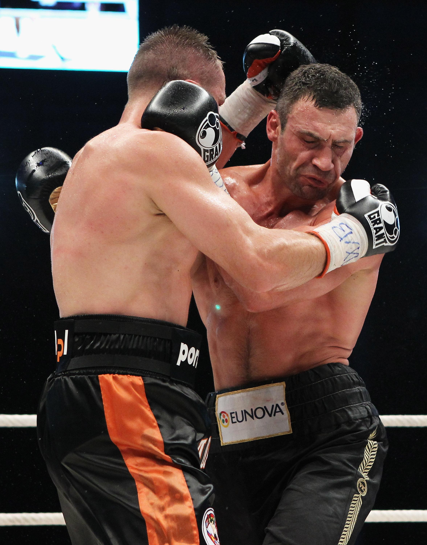 Віталій Кличко одержав перемогу над Томашем Адамеком. Фото: Getty Images Sport