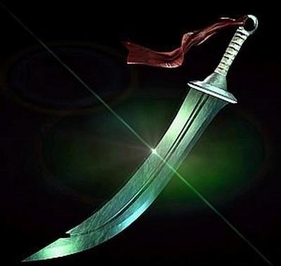 Меч «Зелений дракон». Фото з aboluowang.com