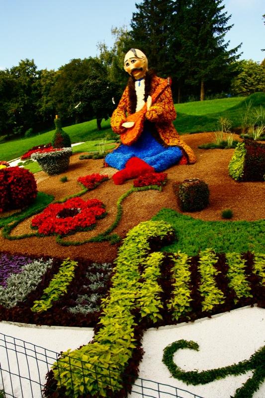 Виставку квітів відкрили у Києві до Дня незалежності України. Фото: Євген Довбуш/The Epoch Times Україна