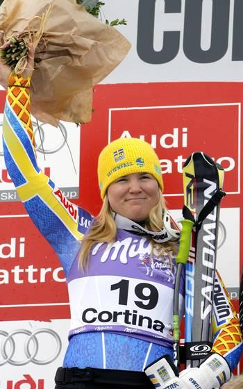 На етапах Кубка світу в Італії пройшли змагання в швидкісному спуску серед жінок. Фото: Agence Zoom/Getty Images