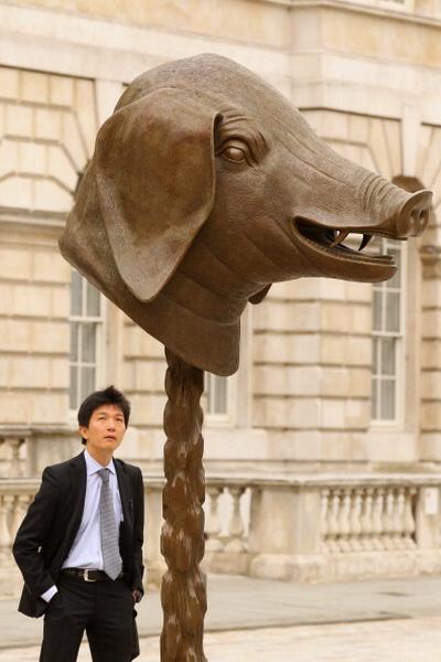 Выставка скульптур китайского художника Ай Вэйвэя в Лондоне, Англия. Фото: Oli Scarff/Getty Images