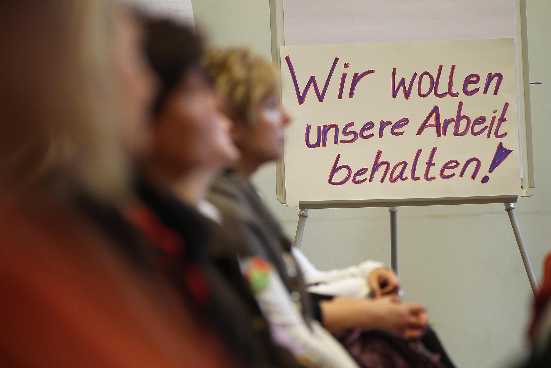 Профсоюзы Германии объявили недельную забастовку