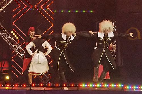 Грузинський танець 'Джута'. Балет 'VATAN'. Фото: Вікторія Тюріна/Велика Епоха