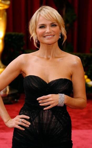 Акторка (Kristin Chenoweth) відвідала церемонію вручення Премії 'Оскар' в Голівуді Фото: Vince Bucci/Getty Images