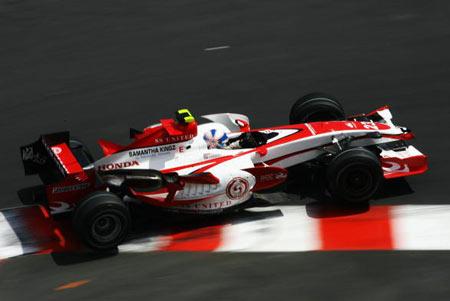 Монте-Карло, МОНАКО: Ентоні Девідсон (Anthony Davidson) з Великобританії під час гонок. Фото: Clive Mason/Getty Images