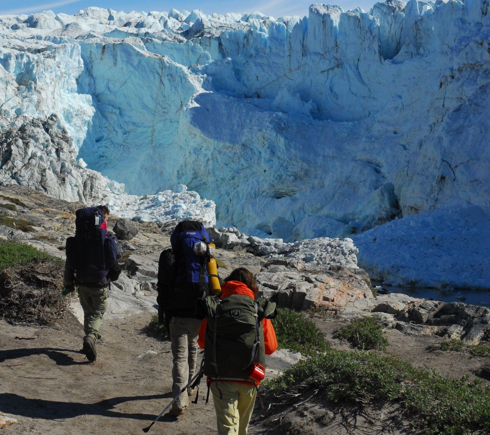 Крижана краса: вид на крижаний фіорд Ілулісат, що отримав статус світової спадщини ЮНЕСКО в 2004 році. Фото: Greenland Tourism /Steen Karup