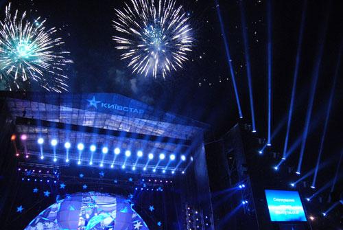 Шоу «Спілкування заради майбутнього» пройшло на Співочому полі у Києві. Фото: Володимир Бородін/Велика Епоха