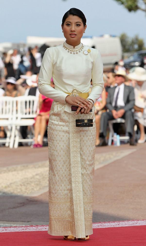 Принцеса Сіріваннаварі Наріратана з Таїланду на весіллі князя Монако ІІ і Шарлін Уіттсток. Фото: Sean Gallup/Getty Images