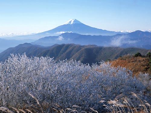 Горы Фудзияма, Япония.