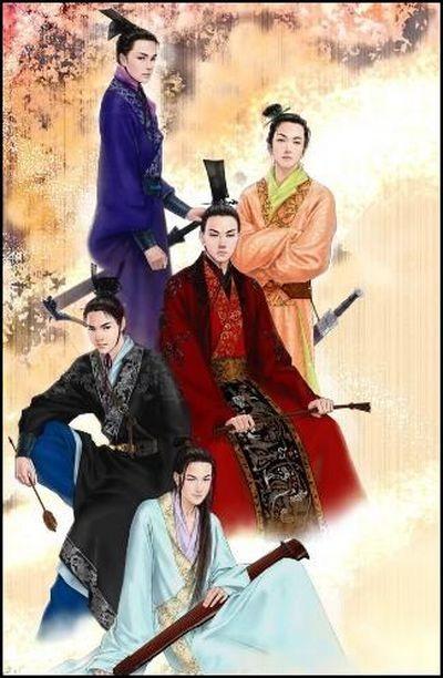І на останок, китайський чоловічий костюм періоду династії Хань. Фото із secretchina.com