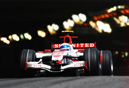 Монте-Карло, МОНАКО: Ентоні Девідсон (Anthony Davidson) з Великобританії під час гонок. Фото: Vladimir Rys/Bongarts/Getty Images