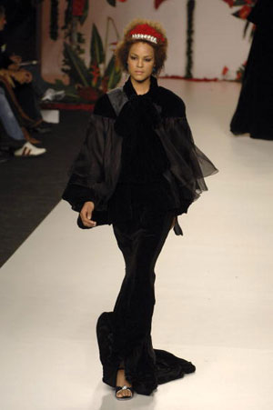 The Francis Montesinos Fall/Winter 2007. Фото: Carlos Alvarez/Getty Images
