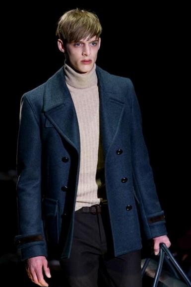 Чоловіча колекція Gucci сезону осінь-зима 2010. Фото: Vittorio Zunino Celotto/Getty Images