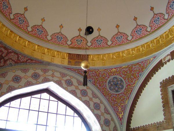 Султанский дворец Топкапа. Фрагмент настенной росписи. Фото: Ирина Рудская. The Epoch Times