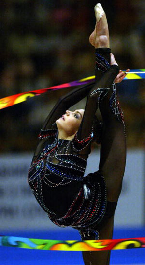 На чемпіонаті Європи в Києві (Україна), 2004 р. Фото: SERGEI SUPINSKY/AFP/Getty Images