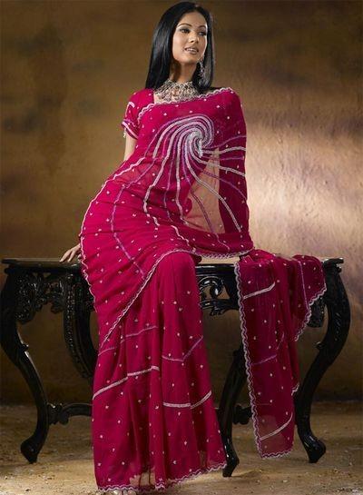 Сари - прошедший через века символ элегантности. фото с aboluowang.com