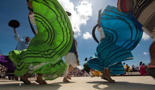 У Мексиці пройшло містичне свято. Фото: AFP