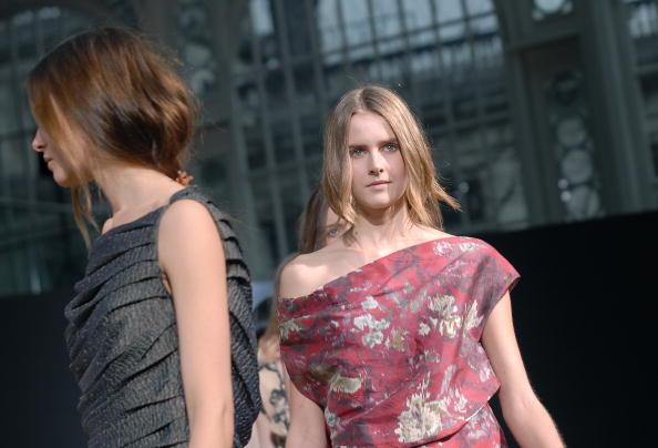 Колекція від Nicole Farhi на лондонському Тижні моди. Фото: Stuart Wilson/Getty Images