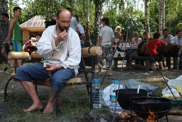 День коваля в Пирогові. Фото: Володимир Бородін/Тhe Epoch Times
