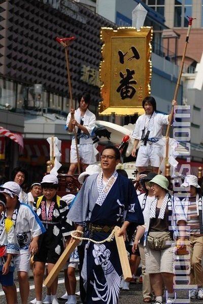 Празднование дня города Ниигата. 9 августа. Япония. Фото: Хун Ифу/The Epoch Times