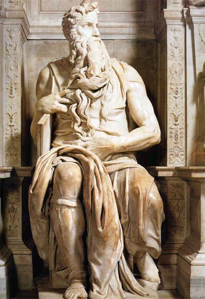 Мойсей. Скульптура Мікеланжело. Фото з сайту managee.ru