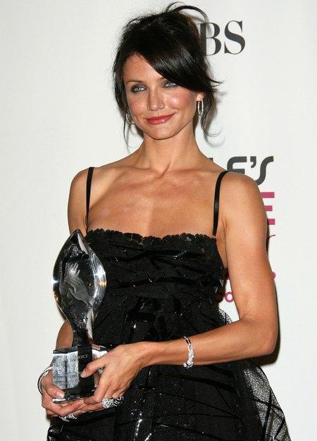 Акторка Камерон Діас стала лауреатом премії «Leading Lady». Позує у прес-центрі на 33-й щорічній Annual People's Choice Awards, що проходила 9 січня 2007 року в Лос-Анджелесі. Фото: Mark Davis/Getty Images