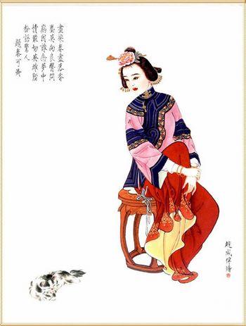 Красуні Стародавнього Китаю. Фото з secretchina.com