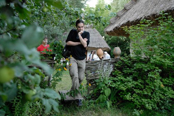 Відкрився центр української етнокультури - козацьке селище «Мамаєва слобода». Фото: Володимир Бородін/The Epoch Times