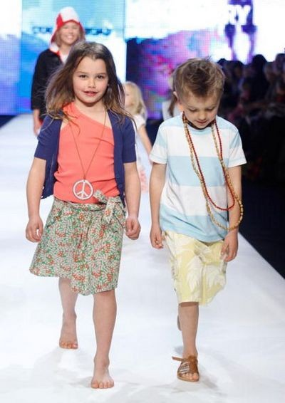 Показ детской моды Rosemount в Сиднее.Фото: Sergio Dionisio/Getty Images