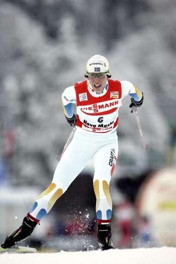 У Нове Мєсто (Чехія) на багатоденному лижному змаганні 'Тур де скі' пройшла жіноча гонка на 10 км вільним стилем. Фото: Agence Zoom/Getty Images