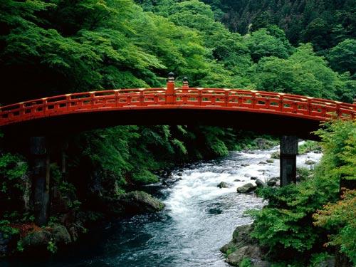 Река Дайа (Daiya River), район Никко (Nikko), Япония.