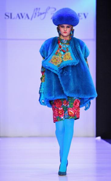 Слава Зайцев (Slava Zaitsev) на Тижні моди Mercedes-Benz Fashion Week Russia. Фото: Pascal Le Segretain / Getty Images