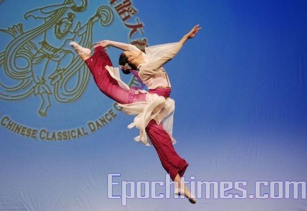 Фінальні виступи на «Всесвітньому конкурсу китайського танцю». Фото: Даі Бін/The Epoch Times