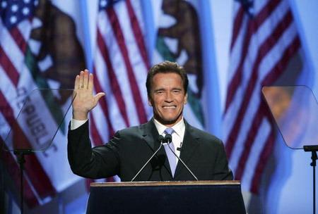 Інавгурація переобраного губернатора Каліфорнії Арнольда Шварценегера. Фото: Justin Sullivan/Getty Images News