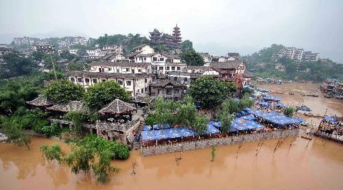 Повінь в місті Чунцін. Фото з epochtimes.com