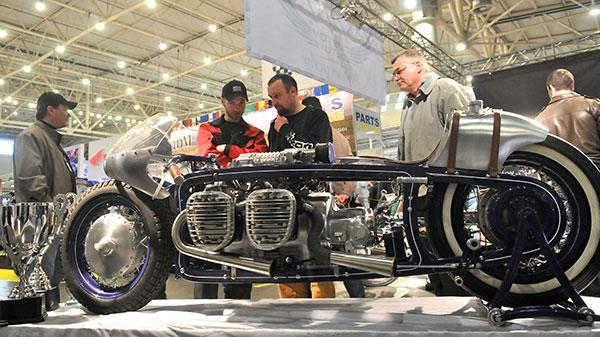 Міжнародна спеціалізована виставка мототехніки й аксесуарів «Мотобайк 2011». Фото: Володимир Бородін/The Epoch Times Україна